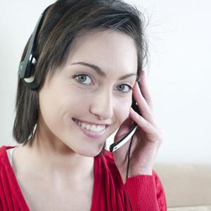 femme sourire tlcommunication tlphonie